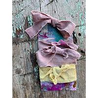 EngelBelle.com Hand-Dyed Muslin Fabric