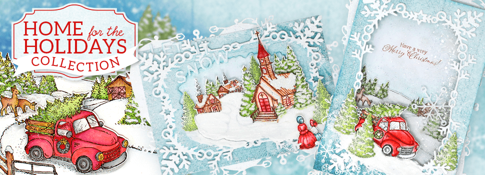 Heartfelt Creations Home for the holidays Collection