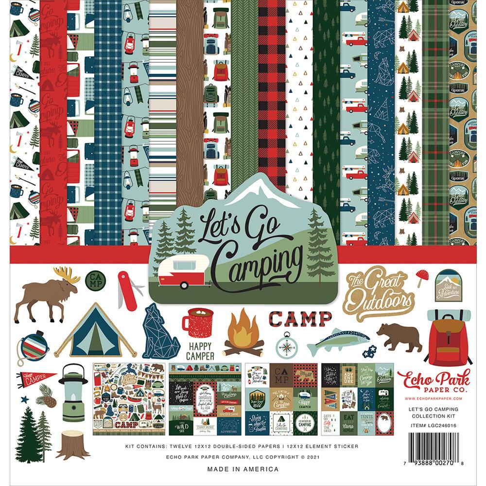 Lets go Camping - Echo Park Paper Co