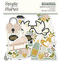 Simple Stories Happily Ever After Bits and Pieces