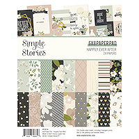 Simple Stories Happily Ever After 6x8 Paper Pad