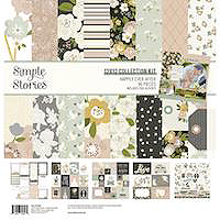 Simple Stories Happily Ever After Patterned Paper