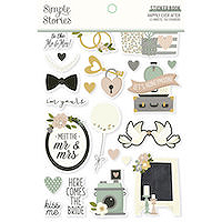 Simple Stories Happily Ever After Sticker Book