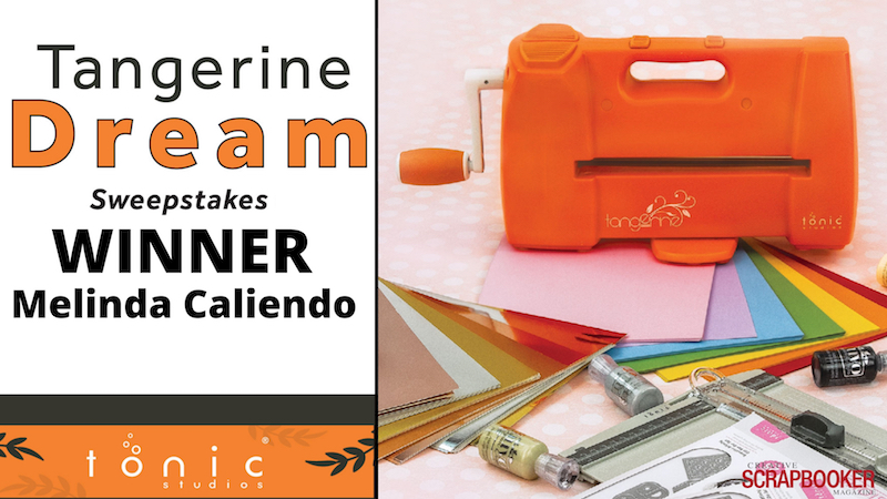 Melinda Caliendo Winner