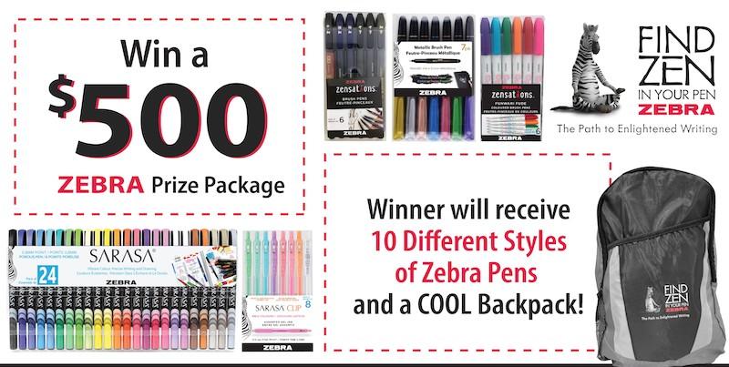Zebra Pens Contest