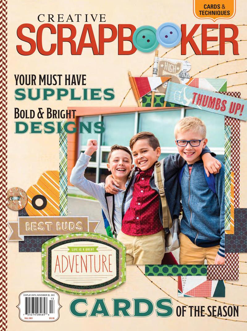 Fall 2021 Issue of Creative Scrapbooker Magazine