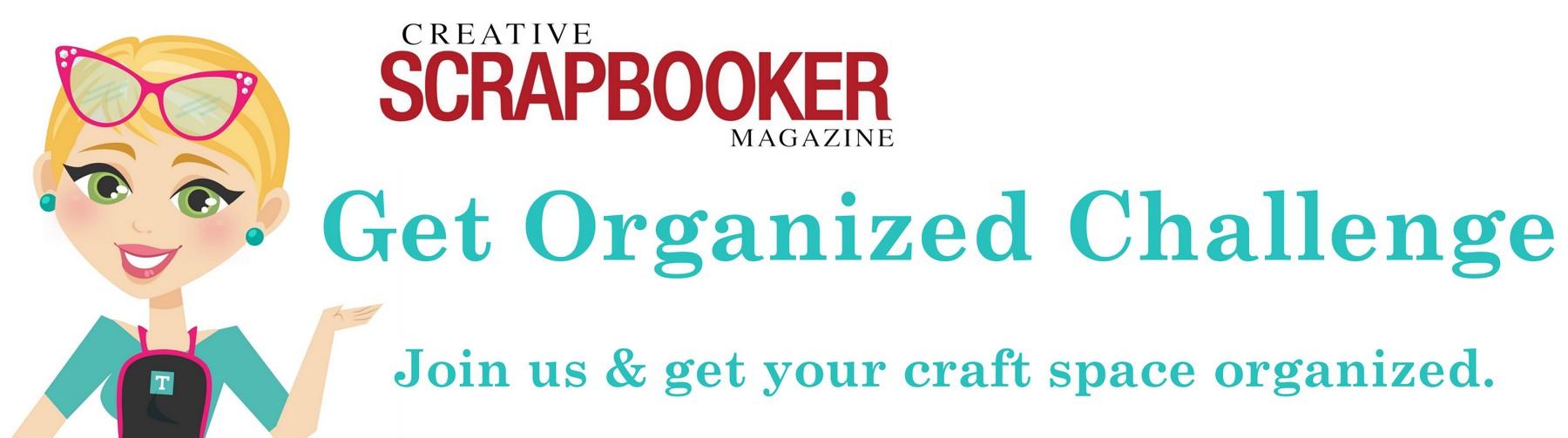 get organized challenge header