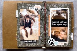 Elizabeth Craft Design Planner / planner essentials / Wild Whisper Happy Tails collection