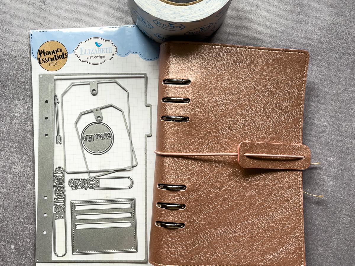 Elizabeth Craft Designs / Planner Essentials / double sided adhesive