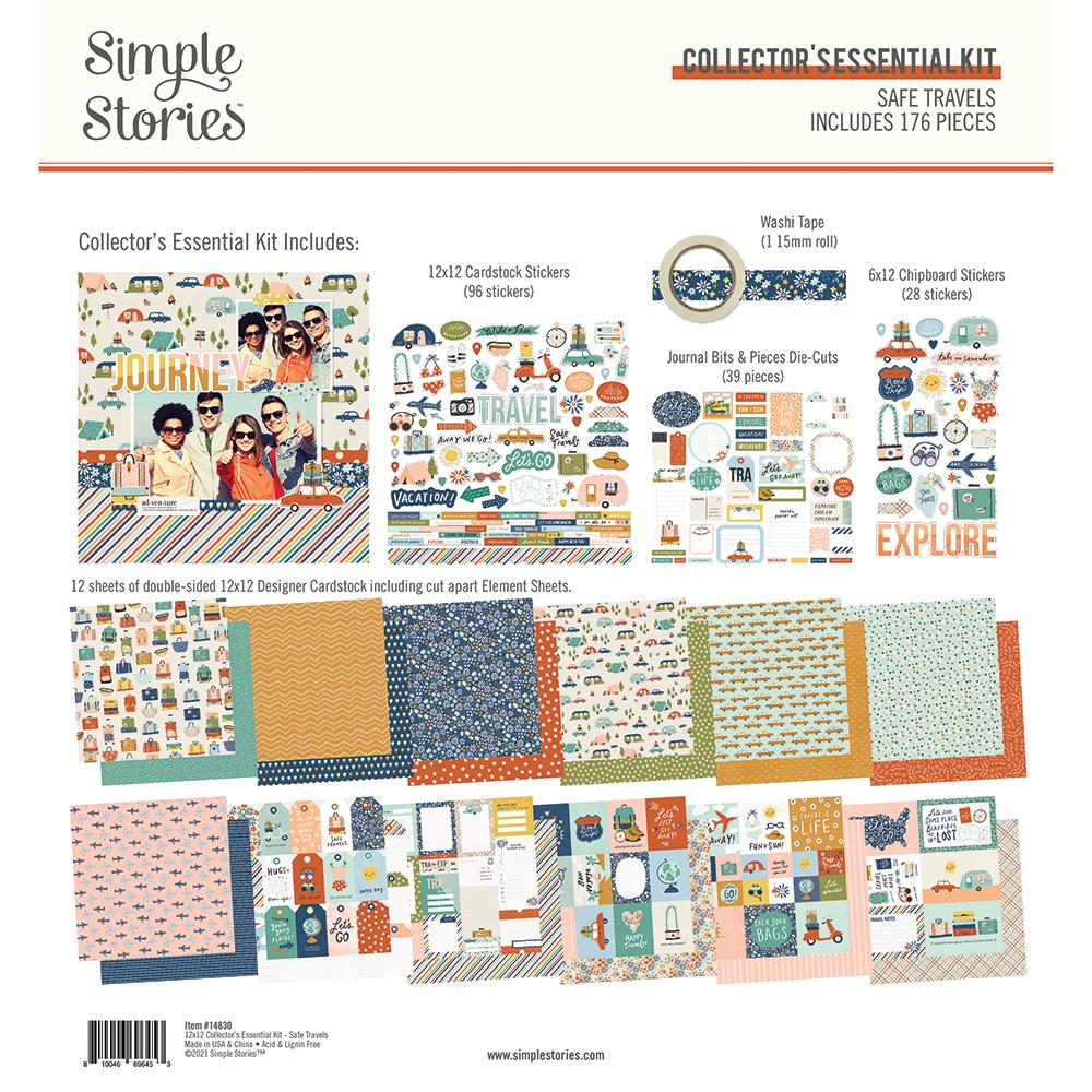 Simple Stories / Safe Travels collection