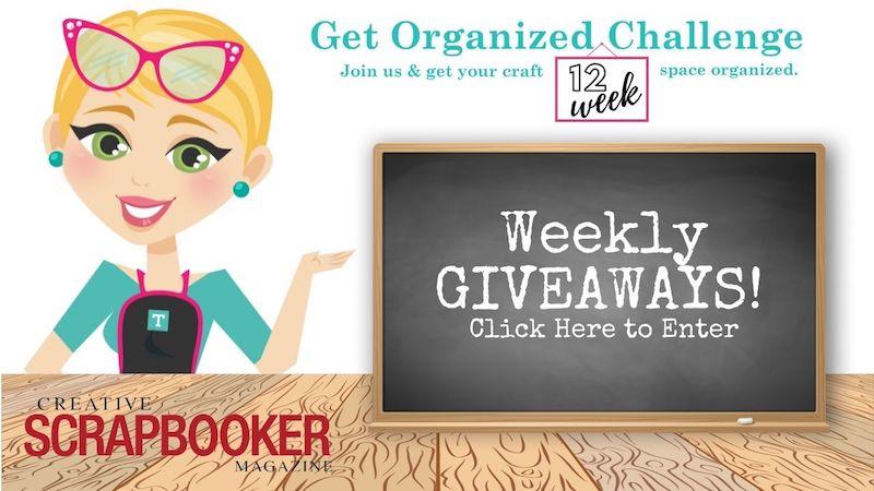 12 Week Get Organized Challenge