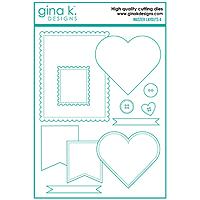 Gina K. Designs Master Layout 4 Die Set