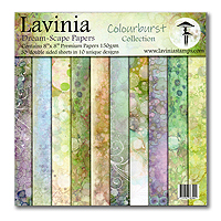 Lavinia Stamps Dream-Scape Papers – Colourburst Collection