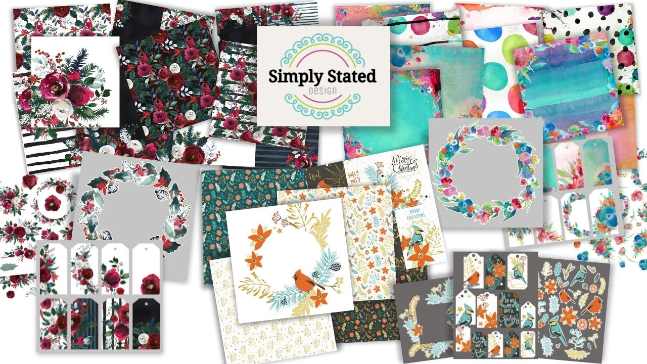 Simply Stated Designs - Creative Scrapbooker Magazine - Giveaway