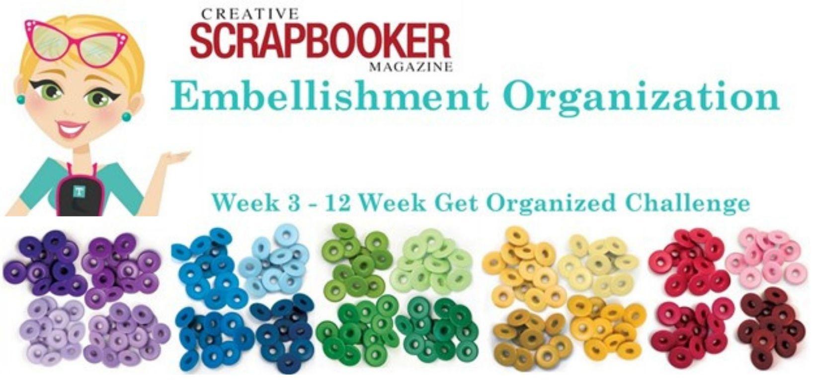 Week #3 - Embellishment Organization