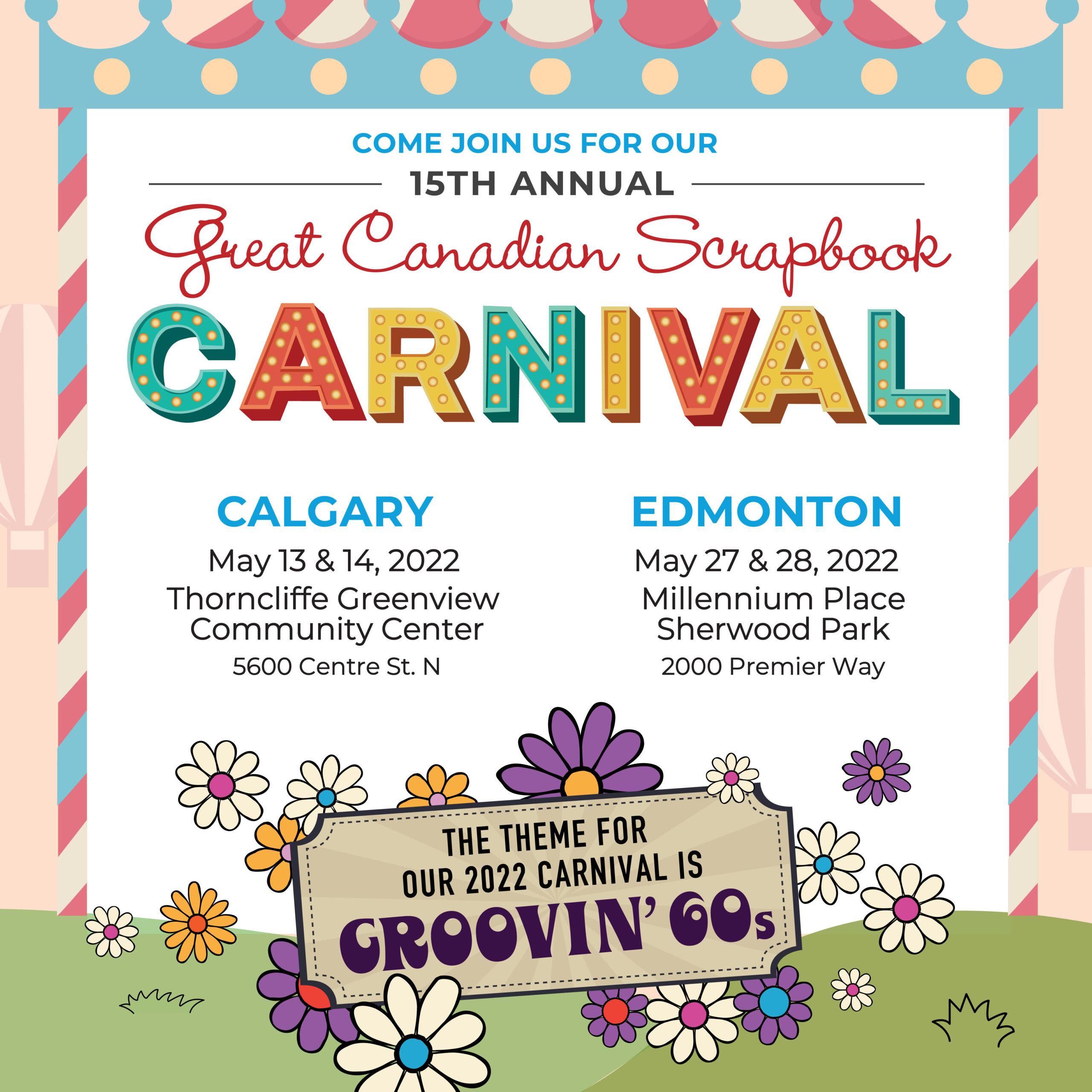 Great Canadian Scrapbook Carnival 2021