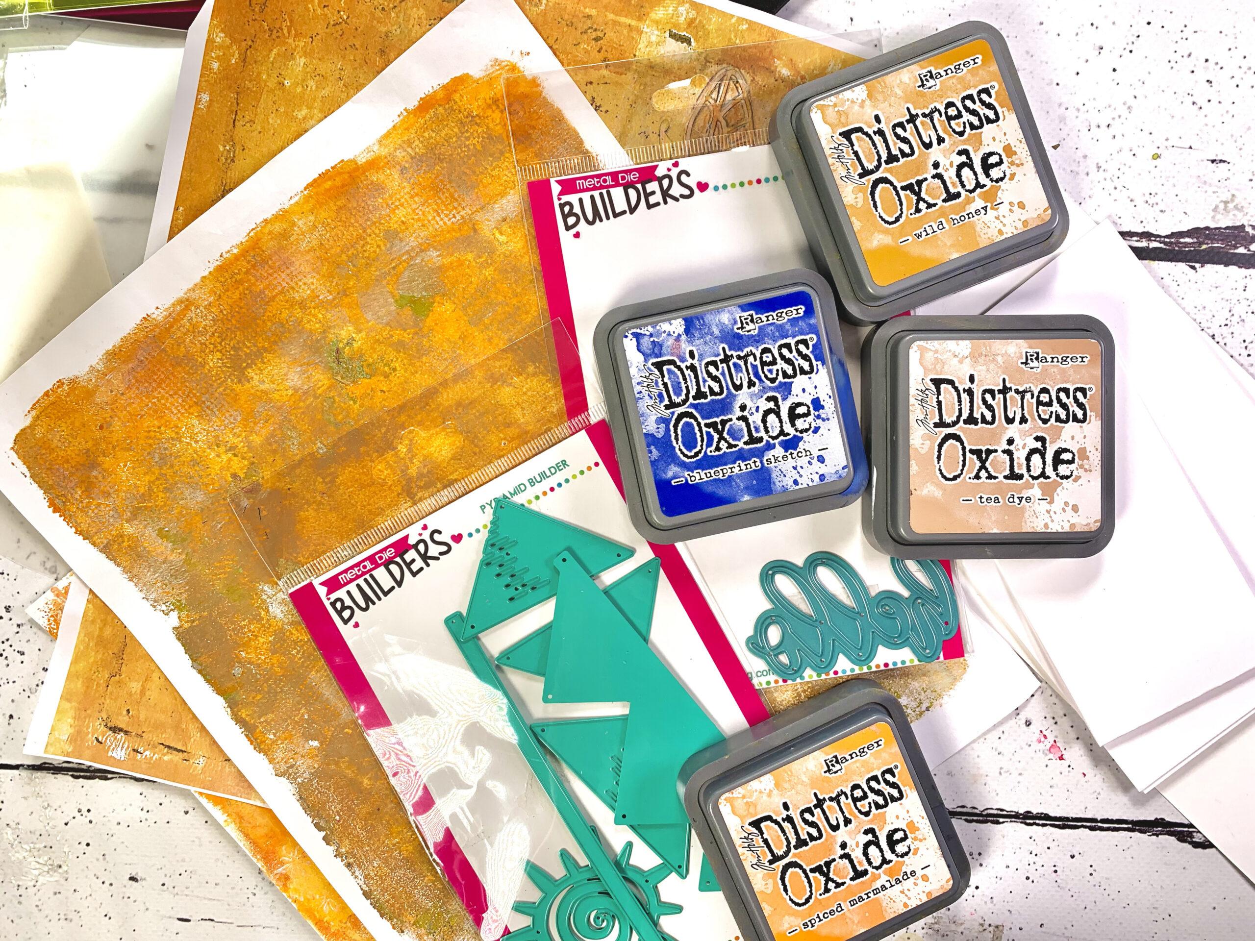 Stamp Anniething Pyramids - Creative Scrapbooker Magazine - Kerry Engel - Card Making