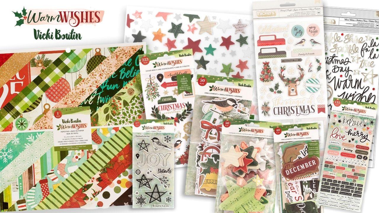 Vicki Boutin - Warm Wishes - Giveaway - Creative Scrapbooker Magazine